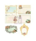 Divine Die Cut Journaling Notecards - Prima