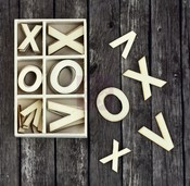 XOXO Wood Icons in a Box - Prima
