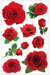 Roses 3D Stickers - Paperhouse