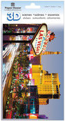 Las Vegas City 3D Stickers - Paperhouse