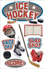 Ice Hockey 3D Stickers - Paper House