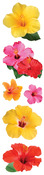 Hibiscus 3D Stickers - Paper House