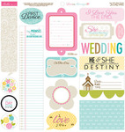 Love & Marriage Sticker Sheet Just Write - Bella Blvd
