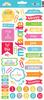 Take Note Icon Stickers - Doodlebug