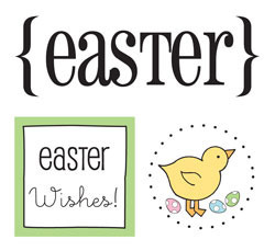 Easter Quick Card Stickers