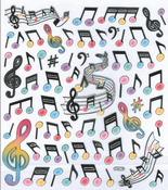 Musical Notes Stickers