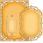 Elegant Labels Four 5 x 7 - Nestabilities - Spellbinders
