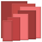 Matting Basics A 5 x 7 Dies - Nestabilities - Spellbinders
