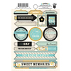 Park Bench Label Stickers - Fancy Pants