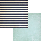 Striped Towel Paper - Down By The Shore - Fancy Pants