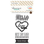 Love Stamp Set - Sweet Notes - Websters Pages