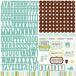 Bundle Of Joy Boy Alpha Sticker Sheet - Echo Park