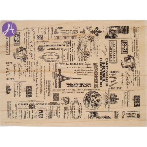 Passage To France Wood Stamp - Hampton Art