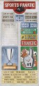 Sports Fan Cardstock Stickers