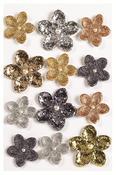 Elegant Nature Metallic Flower Embellishments - Martha Stewart Crafts
