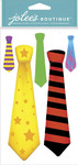 Fun Ties Dimensional Stickers - Jolees