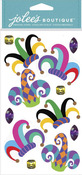 Jester Hats Dimensional Stickers - Jolees