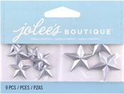 Silver Vintage Stars  Boutique