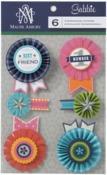 Gabbie Rosette Stickers - Anna Griffin