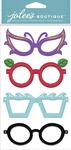 Fun Glasses Dimensional Stickers - Jolees