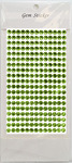 Lime Green Gem Stickers, 6 mm