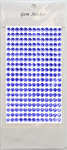 Sapphire Gem Stickers, 6 mm