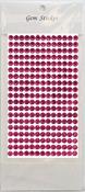 Garden Rose Gem Stickers, 6 mm