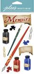 Memoirs and Memories Dimensional Stickers - Jolees