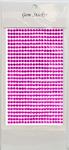 Hot Pink Gem Stickers, 4 mm