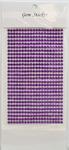 Purple Gem Stickers, 4 mm