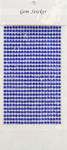 Sapphire Gem Stickers, 4 mm