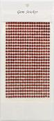 Ruby Gem Stickers, 4 mm