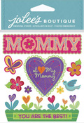 I Love My Mommy Dimensional Stickers - Jolees