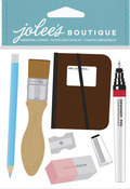 Drafting Supplies Dimensional Stickers - Jolees