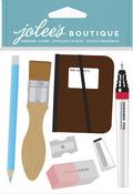 Drafting Supplies Dimensional Stickers - Jolees