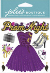 Prom Night Dimensional Stickers - Jolees