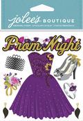 Prom Night Dimensional Stickers - Jolees