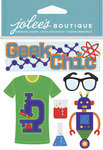 Geek Chic Dimensional Stickers - Jolees