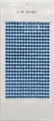 Ice Blue Gem Stickers, 5 mm