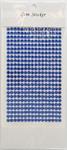 Sapphire Gem Stickers, 5 mm