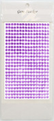 Lavender Gem Stickers, 5 mm