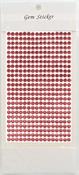 Garden Rose Gem Stickers, 5 mm