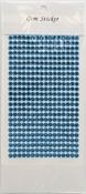 Blue Topaz Gem Stickers, 5 mm