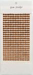 Copper Gem Stickers, 5 mm