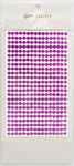 Violet Gem Stickers, 5 mm
