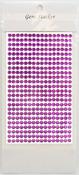 Violet Gem Stickers, 5 mm