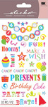Birthday Phrases Sticko Stickers