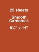 Candy Corn 8.5 x 11 - 25pk Bazzill Cardstock