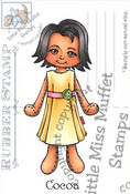 Cocoa - Little Miss  Muffet Stamp