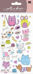 Cats & Dogs Sticko Stickers - EK Success